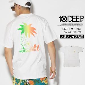 10DEEP テンディープ Tシャツ メンズ 半袖 B系 H...