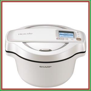 シャープ ヘルシオ ホットクック 水なし自動調理鍋 KN-HW16D-W KNHW16D /送料区分...