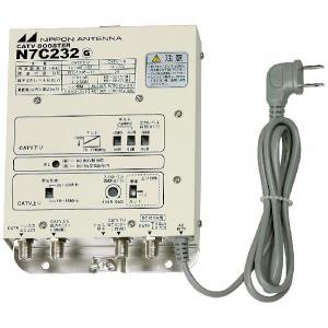 N7C232 日本アンテナ CATVブースター(棟内用)|three-1