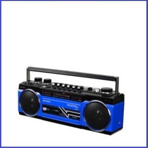 SANSUI ステレオラジオカセット Bluetooth接続 USB/SDカードMP3再生 SCR-...
