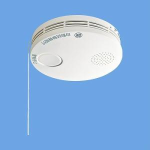 報知器 火災警報器 パナソニック SHK38455 けむり当番 薄型2種 電池式 移報接点なし/送料...