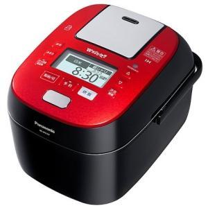 パナソニック 5.5合 スチーム&可変圧力 IHジャー 炊飯器 SR-SPX107-RK[SRSPX107]|three-1