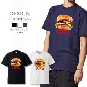 Tシャツ メンズ レディース 半袖 UNISEX ダブルチーズバーガー Burgers ジャンクフー...