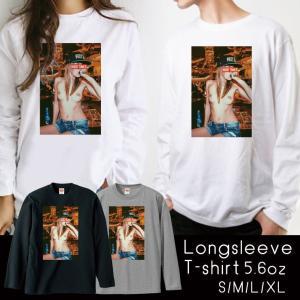 [商品説明]   トレンド感ある大人気のプリント長袖Tシャツがで登場◎   1年中使えるベーシックロ...