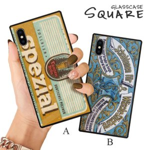 スマホケース iPhone11 Pro Max iPhone XR ケース 背面強化ガラス ケース iPhone8 XS ビンテージ レトロ 外国 ラベル パッケージ 大人 おしゃれ かっこいい|three-o-one