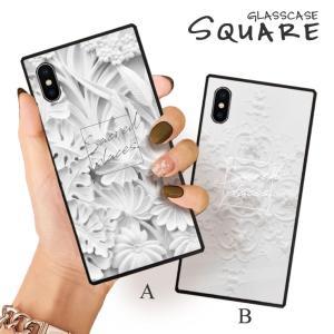 スマホケース iPhone11 Pro Max iPhone XR ケース 背面強化ガラス ケース iPhone8 XS モノトーン シンプル オブジェ 風景 大人 女子|three-o-one