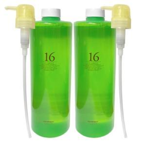 専用ポンプノズルとのセット  【ハホニコ ジュウロクユ 16油】 16種類のオイルが、髪を驚くような...