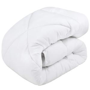 EchoAMZ 掛け布団 シングル 掛けふとん 増量タイプ 中綿1.9kg 総重量2.5kg 洗える...