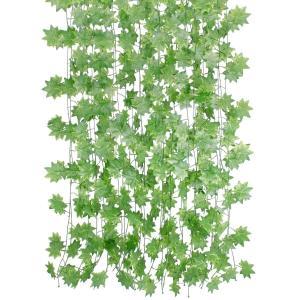 フェイクグリーン HIMETSUYA もみじ 観葉植物 アイビー 造花 インテリア 藤 壁掛け 人工...