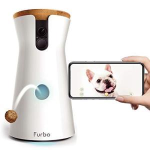 Furbo ドッグカメラ [ファーボ] - AI搭載 wifi ペットカメラ 犬 留守番 飛び出すおやつ 見守り 双方向会話 スマホ iPhone &|three-pieces