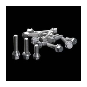ベンツW203/W202用 G-trick ボルト M12×1.5 60°テーパー 首下25/28/30/35/40/45/50/60mm 10本セット|three-point