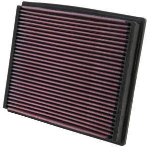 K&N エアフィルター AUDI アウディ ALLROAD QUATTRO 2.7 V6(4BAREF) リプレイスメントフィルター 純正交換タイプ|three-point