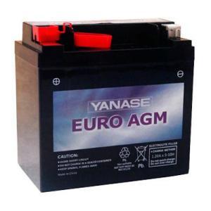 YANASE ヤナセ サブバッテリー EURO AGM 12V-12A メルセデスベンツ(W212/W207/W211/W219/W204/W169/W245)|three-point