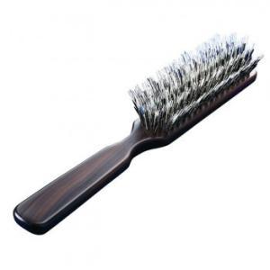 代引不可 3段豚毛の少髪用ブラシヘア つや セット|three-s7777