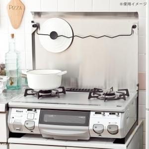 代引不可 一般ガスコンロ用 ガスコンロカバー IK-10S ステンレス作業台 キッチン用品 油ハネガード|three-s7777