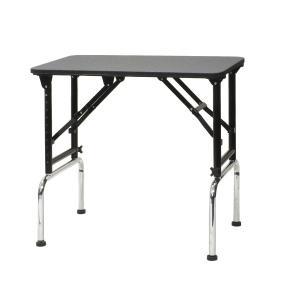 高さ調節できるテーブル ブラックアジャストテーブル 750 W750×D450×H700mm〜970mm サロン/ブラックシリーズ/プロ仕様/人気|three-s7777