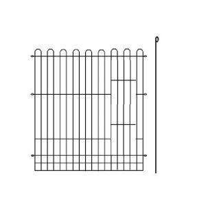 6面ブラックサークル用部品 ブラックサークルL用 単面 小窓有りタイプ ピン付き サイズ900mm×H1100mm|three-s7777