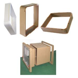 ラージキャットドア&スモールドッグドア用 延長通路 壁厚が厚い場合に使用