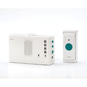 代引不可/ELPA ワイヤレスチャイムランプ付受信器セット EWS-2001/代引不可|three-s7777