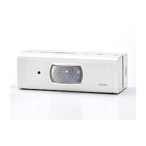 代引不可/ELPA ワイヤレスチャイム用増設 センサー用送信器 EWS-03/代引不可|three-s7777