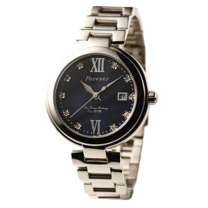 代引不可/Forever(フォーエバー) 腕時計 デイト付き FG-1201-5 ブラックシェル×ブラック/代引不可 three-s7777