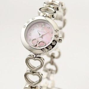 代引不可/Forever(フォーエバー) 腕時計 1Pダイヤ FL-1207-2 ピンクシェル×シルバー/代引不可 three-s7777