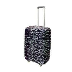 代引不可/ミヨシ スーツケースカバー Mサイズ CROCODILE MBZ-SCM2/CR/代引不可 three-s7777