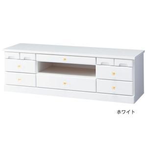 代引不可/選べる引き出しいっぱいリビングボード(サイドボード) 〔2: 幅102cm×高さ32cm〕 木製 ホワイト(白)/代引不可|three-s7777