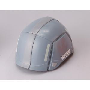 代引不可/防災用折りたたみヘルメット BLOOM(グレー)〔防災ヘルメット〕/代引不可 three-s7777