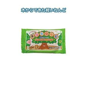 代引不可/木から作った木かる紙ねんど120g 日本製 〔10個セット〕 32-615/代引不可 three-s7777