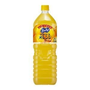 代引不可/〔まとめ買い〕アサヒ バヤリース オレンジ ペットボトル 1.5L×8本(1ケース)/代引不可|three-s7777