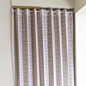 代引不可/幅150×丈250cm パタパタ 間仕切りカーテン 日本製 アイボリー/代引不可|three-s7777