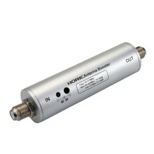 代引不可/HORIC(ホーリック) アンテナブースター 室内・地デジ(UHF/VHF)専用 中継タイプ HAT-ABS024/代引不可|three-s7777