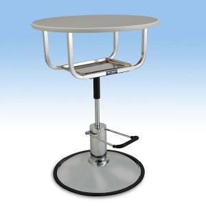 ハチコウ油圧式テーブル丸型アプロ720 人気商品|three-s7777