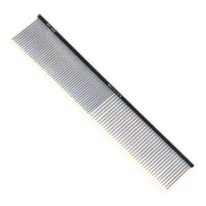 国産高級金櫛 ステンレス極細ピン両目櫛 KS−108 プロユース three-s7777