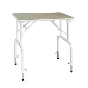 純国産 高さ調節できるテーブル トリミングテーブル アジャスト DX−L W900×D600×H660mm〜730mm サロン/人気/便利/プロユース|three-s7777