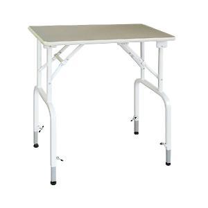 純国産 高さ調節できるテーブル トリミングテーブル アジャスト DX−M W750×D450×H760mm〜910mm サロン/人気/便利/プロユース|three-s7777