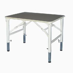 純国産 高さ調節できるテーブル トリミングテーブル アジャスト SX−LL W1200×D600×H590mm〜910mm サロン/人気/便利/プロユース|three-s7777