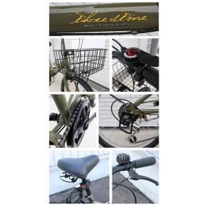 本州送料無料 折りたたみ自転車 20インチ カゴ・ライト・カギ付き シマノ製6段ギア 折り畳み自転車 ミニベロ【AJ-08】 three-stone-ys 05