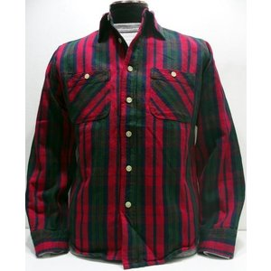 CAMCO(カムコ)[Double Face Flannel Fabric/Lot.17H-Red]|threeeight