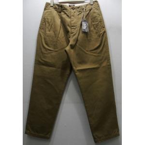 COLIMBO(コリンボ)[KIPS BAY TWO-TACKED PANTS-Beige]|threeeight