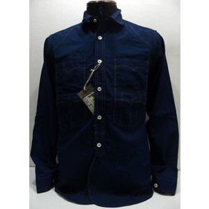 COLIMBO(コリンボ)[TRAPPER'S SHIRT/Cotton Chambray]|threeeight