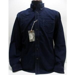 COLIMBO(コリンボ)[Richmond Boro Button Down Shirt/Indigo Oxford]|threeeight