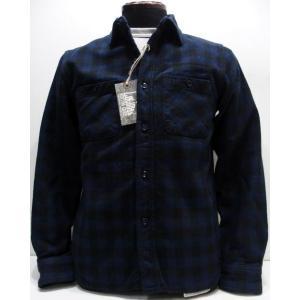 COLIMBO(コリンボ)[Richmond-Boro Work Shirt/Flannel]|threeeight
