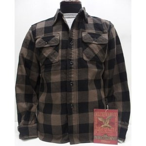 Deluxeware(デラックスウエア)Original Cotton Flannel Shirts [Lot.HV-00 50s Buffalo Check/Beige]|threeeight
