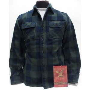 Deluxeware(デラックスウエア)Original Cotton Flannel Shirts [Lot.HV-00 50s Buffalo Check/Green]|threeeight