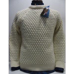 JOHN TULLOCH(ジョンタロック)[British Wool From British Sheep/Popcorn Sweater]〜Made in England〜|threeeight