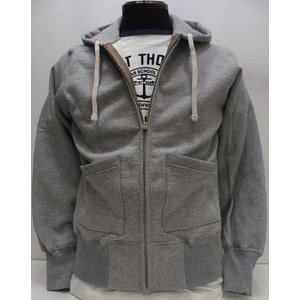 TOYS McCOY(トイズマッコイ)[McHILL SPORTS WEAR HEAVY WEIGHT FULL ZIP SWEAT PARKA/Gray]|threeeight