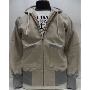 TOYS McCOY(トイズマッコイ)[McHILL SPORTS WEAR HEAVY WEIGHT FULL ZIP SWEAT PARKA/Navy Gray]|threeeight
