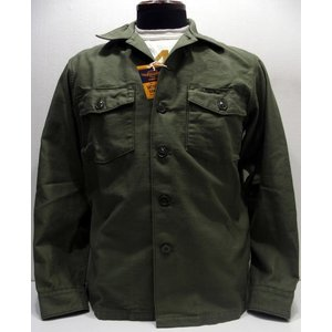 TOYS McCOY(トイズマッコイ)[Military Cotton Sateen Long Sleeve Shirt/OG-107/Plane]|threeeight